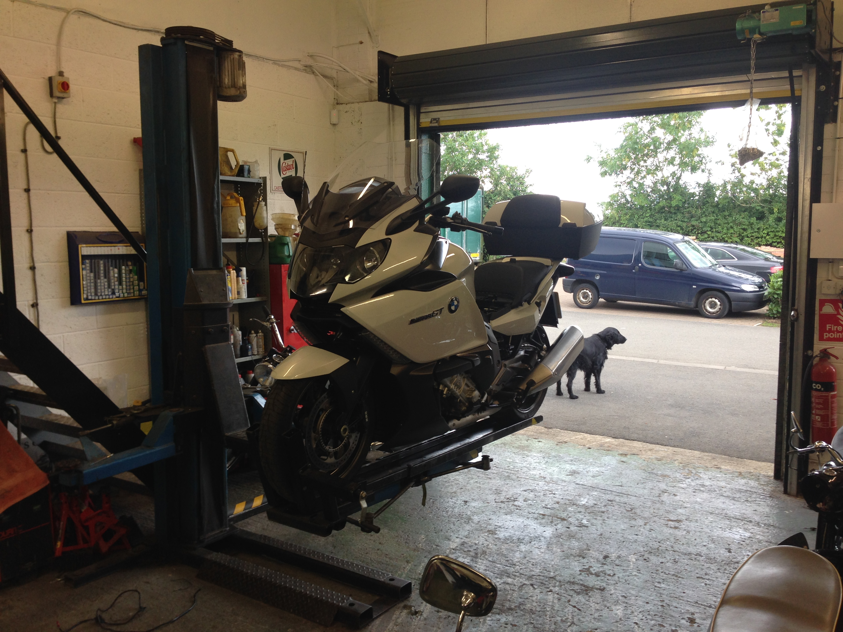 Our BMW Workshop - The Motorcycle Exchange